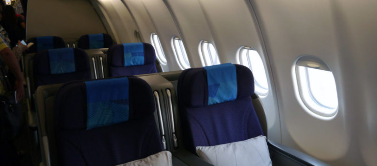 Malaysia Airlines Business Class Seat