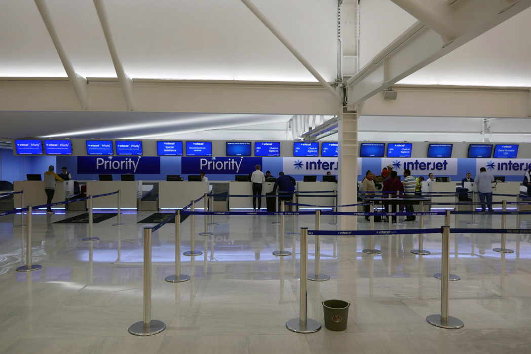 Interjet Check-In for U.S Flights