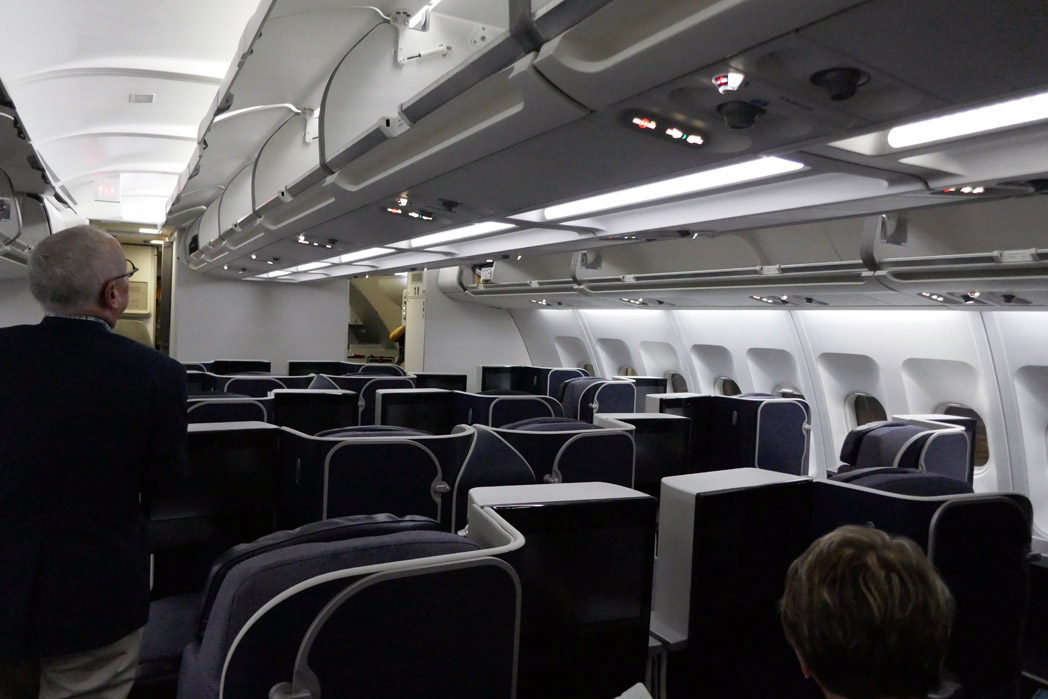 TAP Portugal Business Class Cabin