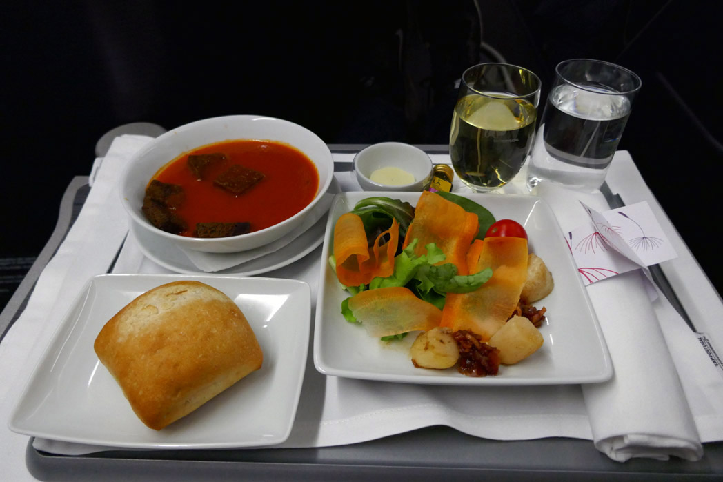 TAP Portugal Appetizer
